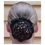 Hair Snood with Rhinestones