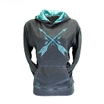 Cowgirl Hardware Crossed Arrows Hoodie