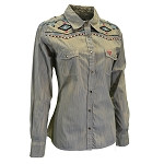 Cowgirl Hardware Long Sleeve Snap Shirt