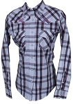 Cowgirl Hardware Buckin' Horse Long Sleeve Snap
