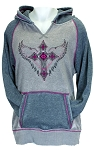 Cowgirl Hardware Cross w/Wings Hoodie