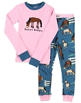 Pasture Bedtime Girl Kids PJ Set