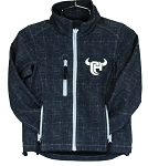 Cowboy Hardware Full Zip Poly Shell Jacket