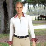 Romfh Ladies long sleeve Lindsay English shirt