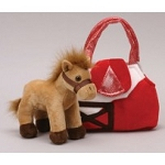 Karimee Brown Horse Purse