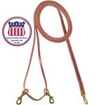 Harness Leather Draw Reins