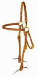 Harness Leather Mule Headstall