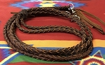 Braided Leather Reins