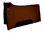 Square cordura contour saddle pad