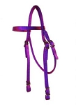 Nylon Browband Headstall with Conway Buckles