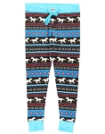 Horse Fair Isle Women's PJ Legging