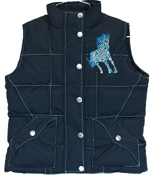 "Cowgirl Hardware ""Giddy Up"" Vest"